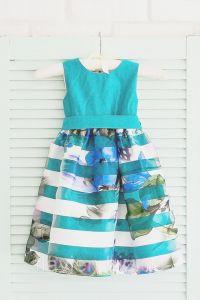 Святкове плаття для дівчинки (м'ятне), Flavien 7022
