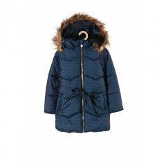 Тепле пальто з флісовою підкладкою для дівчинки, 3A3704
