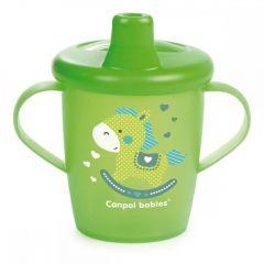 Чашка-непроливайка (250 мл), Canpol babies 31/200 (зелена)