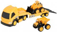 """Набір машинок """"JCB: Мегатранспортер"""", Hti Toys 1416075"""
