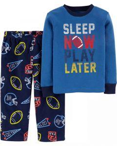 Піжама для хлопчика з флісовими штанами