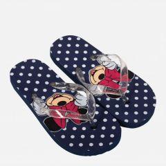 """В'єтнамки для дівчинки """"Minnie Mouse"""" DIS MF 52 51 8347  (сині)"""