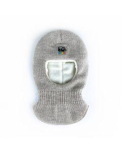 Трикотажна балаклава з флісом для дитини, Talvi (бежева) 01651