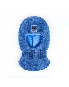 Трикотажна балаклава з флісом для дитини, Talvi (голуба) 01651