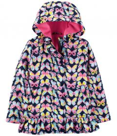 Куртка с флисовой подкладкой для девочки