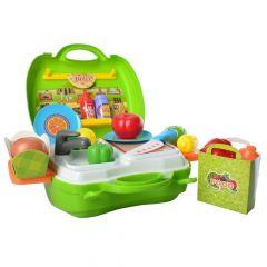 """Ігровий набір """"Овочі"""" (в валізі), BOWA 8349A"""