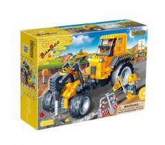 """Конструктор """"Будівельна техніка/трактор з відбійником"""", Banbao 8537"""