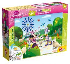 Пазл двосторонній Minnie Mouse and friends / Мінні Маус та друзі, Maxi 150 шт, 48335, LISCIANI