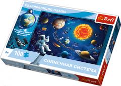 """Пазли """"Навчальні - Сонячна система"""" (російськомовна версія) , Trefl 15529"""