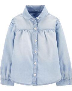 Легкая рубашка для девочки