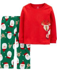 Флисовая пижама для мальчика