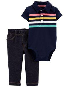 Комплект-двійка (боді+штанята) для хлопчика