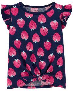 Красива футболка для дівчинки