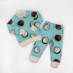 Трикотажний костюм з легкою махровою ниткою (кокос), Coolton