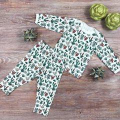 Трикотажна піжама для дитини (кактуси), Coolton
