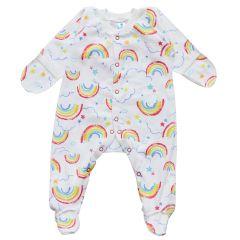 Трикотажный человечек для малыша (радуга), 2010603