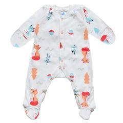 Трикотажний чоловічок для малюка  (лисичка), 2010603