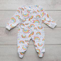 Трикотажный человечек для малыша (радуга), Minikin 2010703