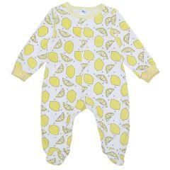 Трикотажний чоловічок для малюка (лимони), MINIKIN 2010703