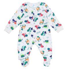 Трикотажний чоловічок для малюка (машинки), Minikin 2010703