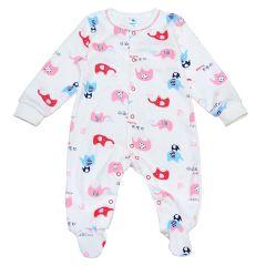 Трикотажний чоловічок для малюка (молочний/червоний), Minikin 2010703