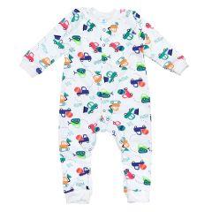Трикотажний чоловічок для малюка (машинки), MINIKIN 2010803