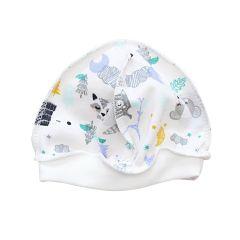 Трикотажна шапочка з начосом всередині (тваринки) , 2014501