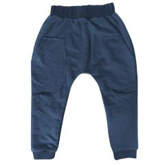 Трикотажні штанята для дитини (темно-сині), 2015607