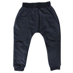 Трикотажні штанята для дитини (темно-сірі), 2015607