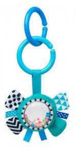 Іграшка-брязкальце Zig Zag (блакитна), Canpol Babies 68/057_blu
