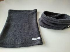 Вовняний шарф-снуд для дитини, 22S Mokkibym