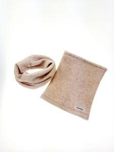 Вовняний шарф-снуд для дитини, СН-2 Mokkibym