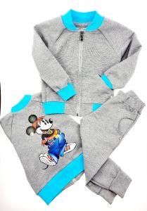 """Спортивний трикотажний костюм """"Mickey Mouse"""", 013-1 Mokkibym"""