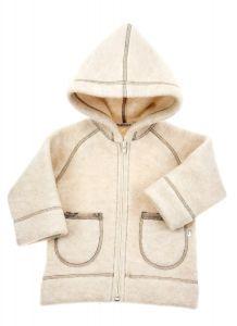 Вовняна курточка-худі для дитини, 16-1 Mokkibym