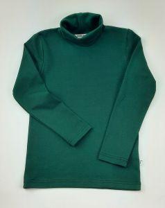 Трикотажний гольф для дитини (зелений) , 24 Mokkibym