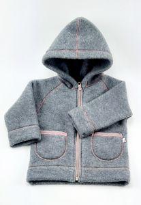 Вовняна курточка-худі для дитини, 16-5 Mokkibym