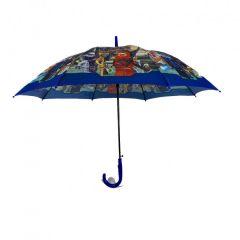 """Дитяча парасоля """"Лего Ніндзяго"""" (синя)"""