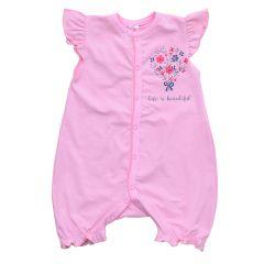 Трикотажний пісочник для дівчинки від Minikin (рожевий), 203502