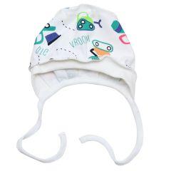 Трикотажна шапочка для малюка (машинки), Minikin 208903