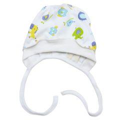 Трикотажная шапочка для малыша (салатовый/голубой), Minikin 208903