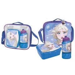 """Практичний набір для дівчинки (сумка, бідончик, ланчбокс) """"Frozen"""", 2100003137"""
