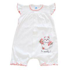 Трикотажний пісочник для дівчинки від Minikin (молочний), 210603