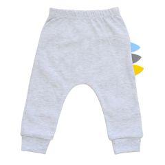 Трикотажні штанята для хлопчика, Minikin 212003 (сірий меланж)