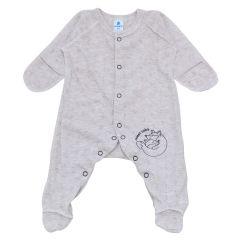 Чоловічок з ажурного трикотажу для малюка (бежевий), 212205