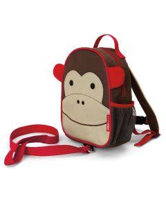 """Рюкзак """"Мавпочка"""" з ремінцем безпеки, Skip Hop 212253"""