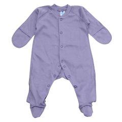Трикотажний чоловічок для малюка, 213503 (фіолетовий)