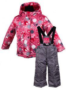 Зимовий комплект для дівчинки Salve by Gusti SWG4855 AZALEA PINK