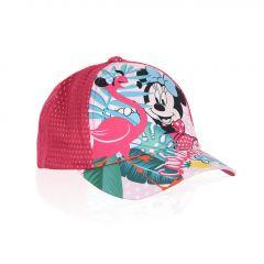"""Красива кепка для дівчинки """"Minnie Mouse"""", ET4059 (рожева)"""