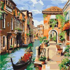 """Картина за номерами """"Венеціанський ранок"""" 40*40, Ідейка КНО2161"""
