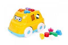 """Розвиваюча іграшка """"Автобус-сортер"""" (жовтий), ТехноК 5903"""